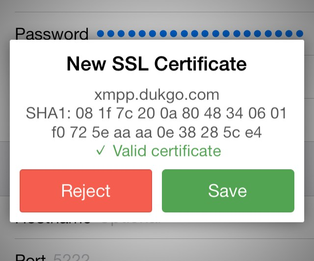 SSL Pinning Support